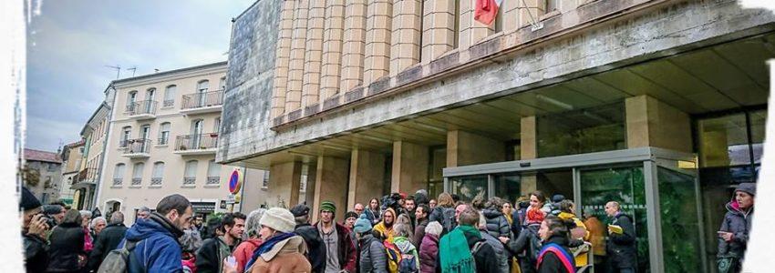 Procès des 7 de Briançon pour «délit de solidarité»
