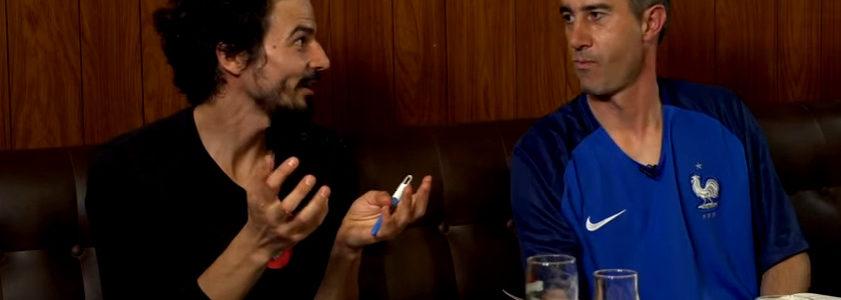 """Pablo Servigne et François Ruffin: une heure d'euphorie et d'espoir sur le thème de """"la fin du monde"""""""