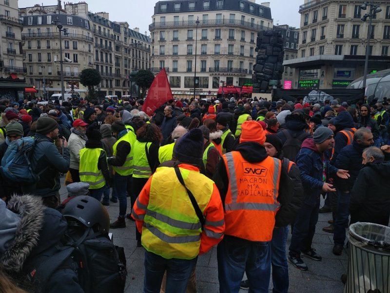 Appel à témoignages Gilets jaunes : où et quand avez-vous été empêchés de manifester à Paris le 15 décembre ?