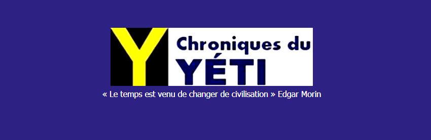 NOUVEAU: un groupe Facebook pour les chroniques du Yéti