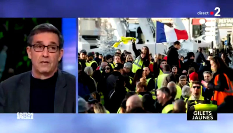 Emmanuel Todd :  « Les Gilets jaunes m'ont rendu ma fierté d'être français »