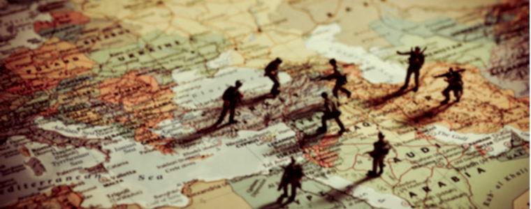 Le Grand jeu : manœuvres syriennes