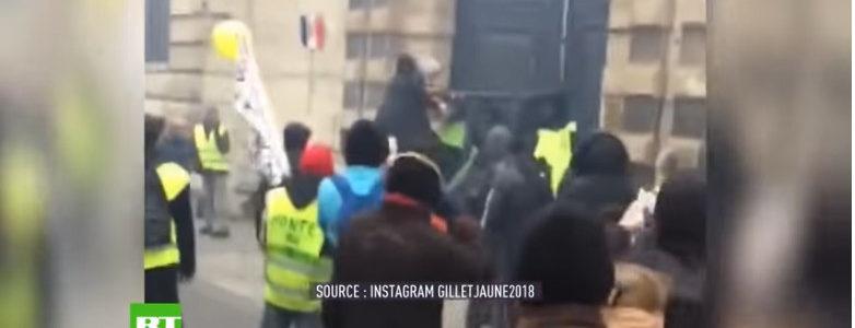 La violence est le seul recours des peuples interdits d'expression