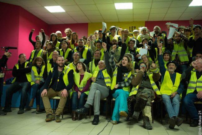 Appel de la première «Assemblée des assemblées» des Gilets jaunes à Commercy