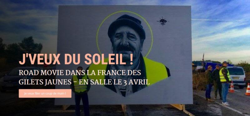 François Ruffin présente son prochain film : «J'veux du soleil !»