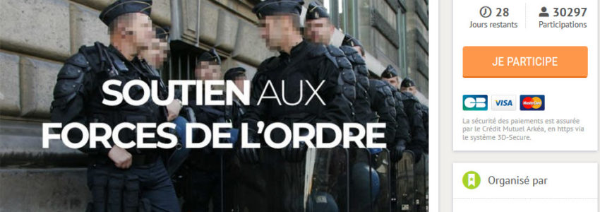 Cagnotte Leetchi en soutien aux policiers : d'étranges donateurs nocturnes et insomniaques