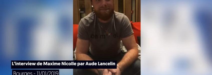 Avant l'acte 9 des Gilets jaunes : interview de Maxime Nicolle par Le Média
