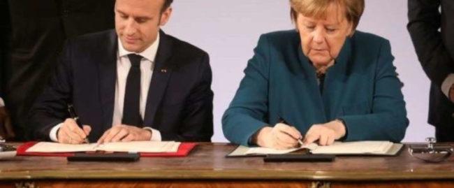 Traité d'Aix-la-Chapelle: une trahison d'État caractérisée par Emmanuel Macron