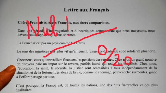 La lettre de Macron aux Français : une Gilet jaune lui répond…