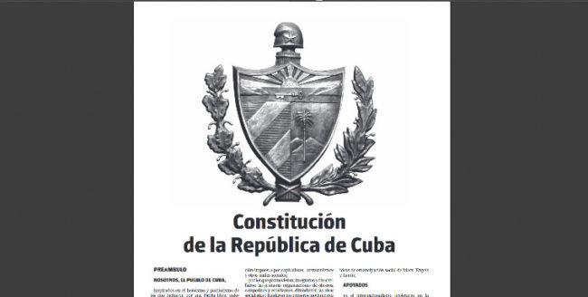 24 février : un référendum populaire sur la Constitution… à Cuba !