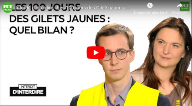 Les 100 jours des Gilets jaunes : quel bilan ? par Frédéric Taddéi