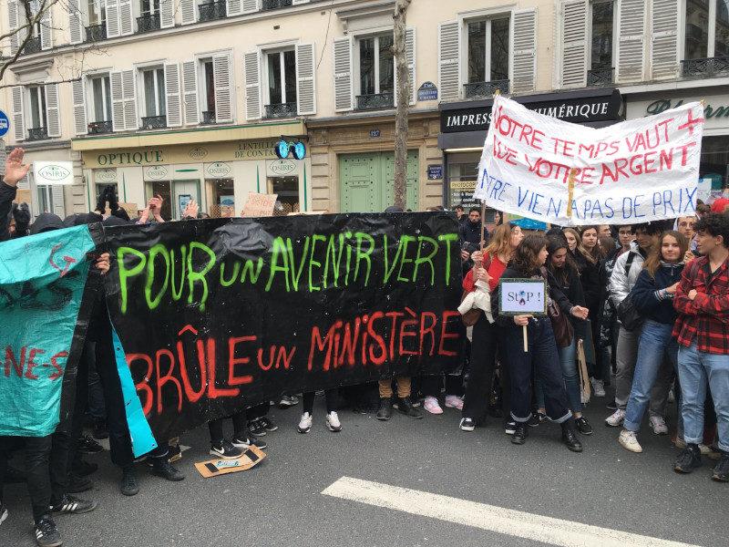 15 mars 2019 : la marche des jeunes pour le climat est en train de cartonner