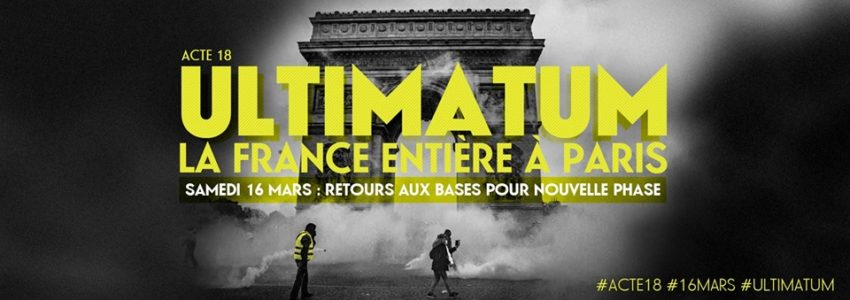 Ultimatum du 16 mars : il est grand temps de commencer à en finir !