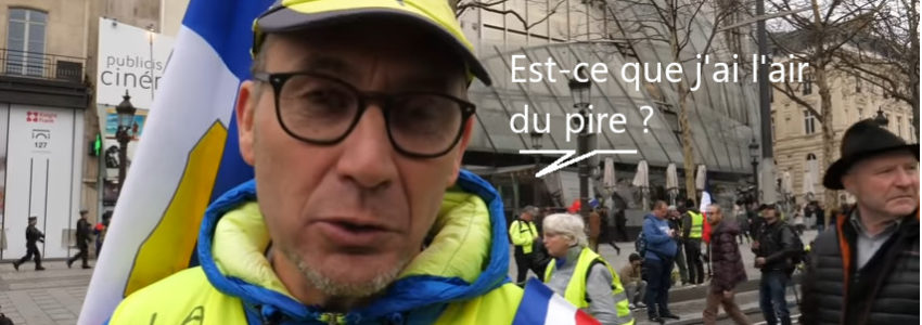 Gilets jaunes acte 16 : tempête en vue, par Serge Faubert (Le Média)