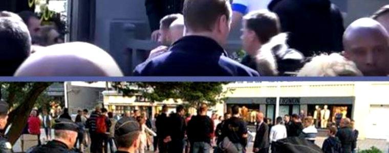 L'incroyable boulette de CNews sur le vrai/faux bain de foule de Macron au Touquet