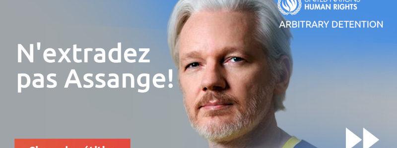 Pétition : Julian Assange ne doit pas être extradé !!!