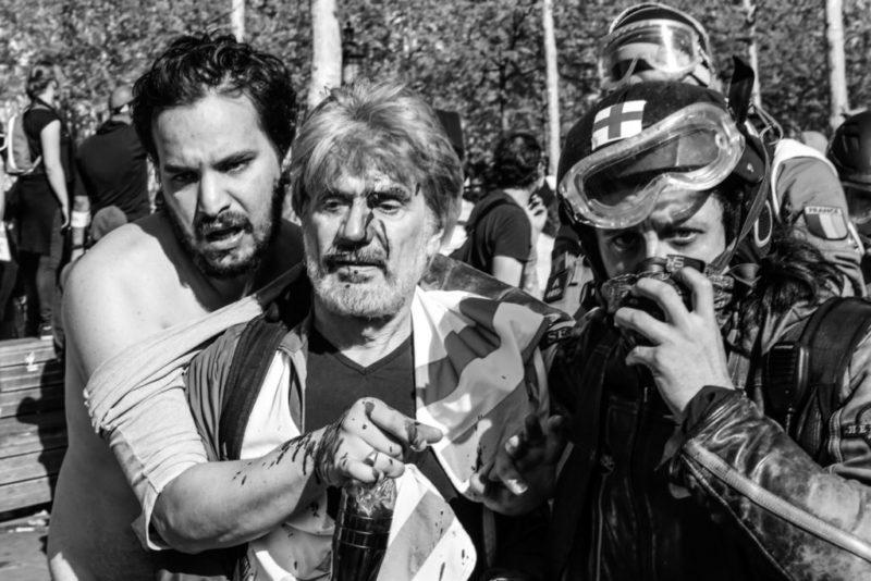 Violences policières acte 23 : des scènes de guerre civile, des propos excessifs et un communiqué inopportun
