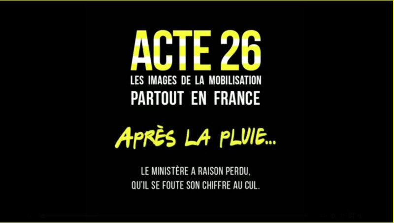 Gilets jaunes acte 26 du 11 mai : le récap' de Cerveaux non disponibles et le chiffrage du Nombre jaune