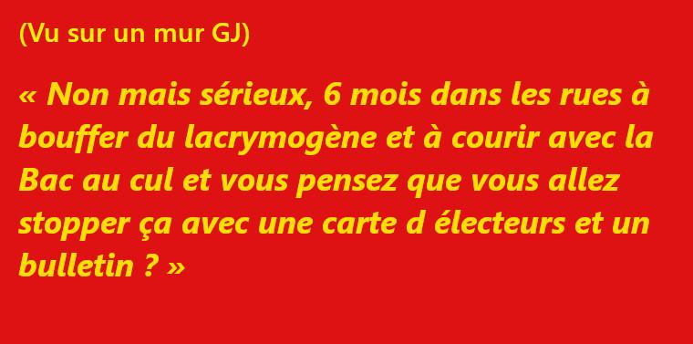 François Bégaudeau : boycottons l'élection européenne !