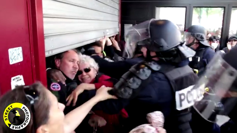 1er mai 2019 : le comportement dégueulasse des forces de l'ordre étalé aux yeux de l'opinion publique