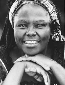 Wangari Maathai : « Nous n'avons le droit ni de fatiguer ni de renoncer. »
