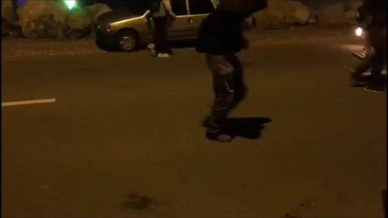 Nantes : une attaque menée par une horde barbare (VIDÉOS)