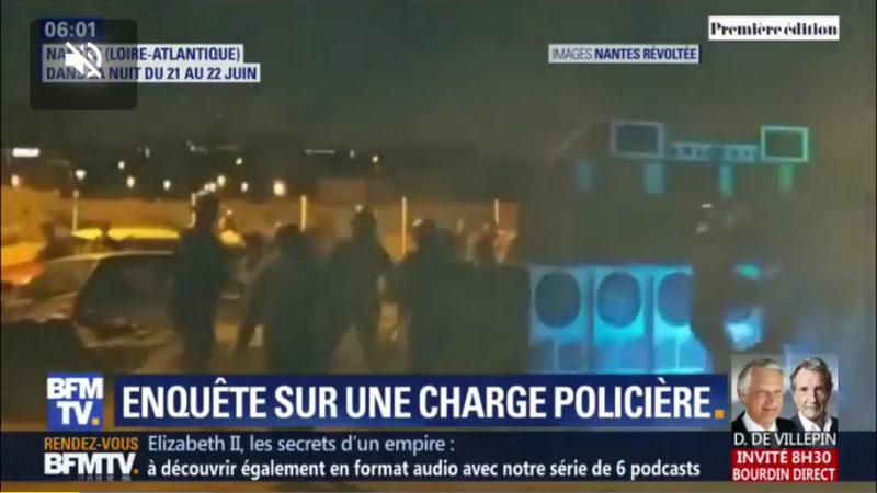 Nantes, Vaujours : l'encourageant pétage de plomb des policiers