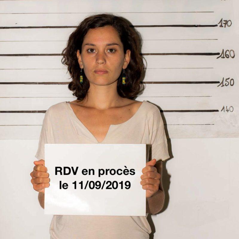 Le 11 septembre prochain je serai en procès, par Marion Esnault
