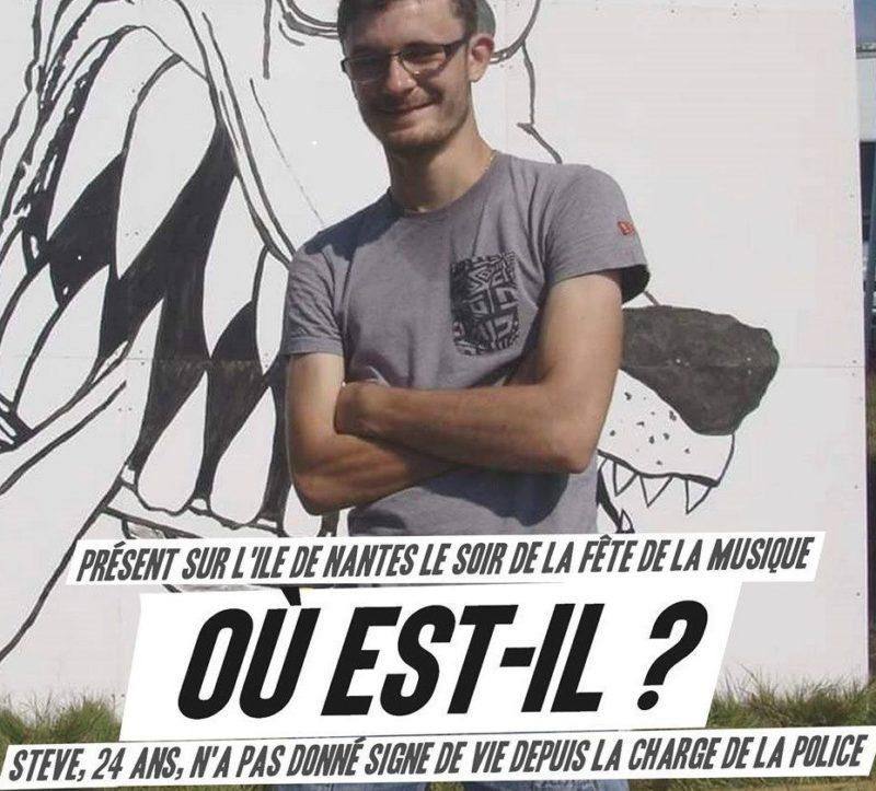 #OuEstSteve ? Dans la Loire, assassiné par la police du régime Macron