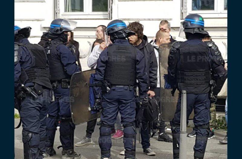 Le zèle pathétique de policiers lyonnais contre 10-15 Gilets jaunes