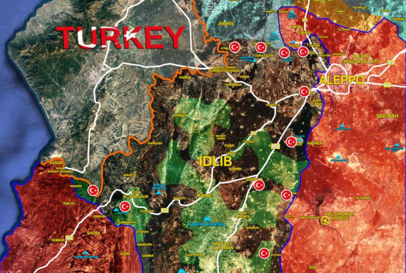 Le Grand jeu : vers Idlib ?