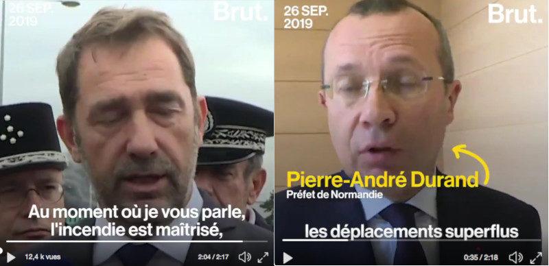 Incendie Lubrizol à Rouen : deux barbares, deux salauds