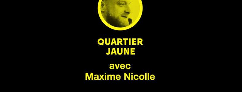 Le premier reportage – réussi – du journaliste Maxime Nicolle
