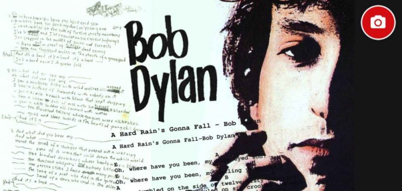 Bob Dylan : une pluie terrible va tomber (<em>A Hard Rain's A-Gonna Fall</em>)