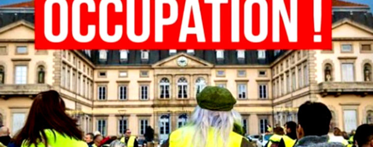 "La ""surprise"" de l'acte 47 des GJ : l'occupation du centre commercial Italie 2"