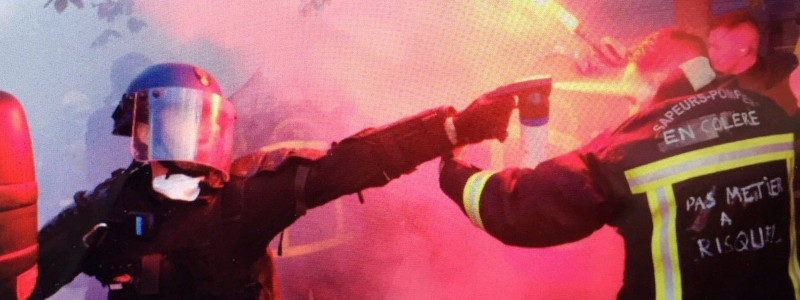 #Pompiers #France #ViolencesPolicieres  : la mort de notre République