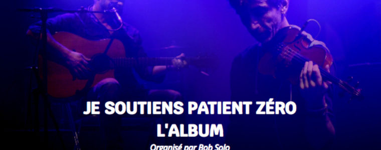 Copinage : un pot solidaire pour le duo Patient Zéro