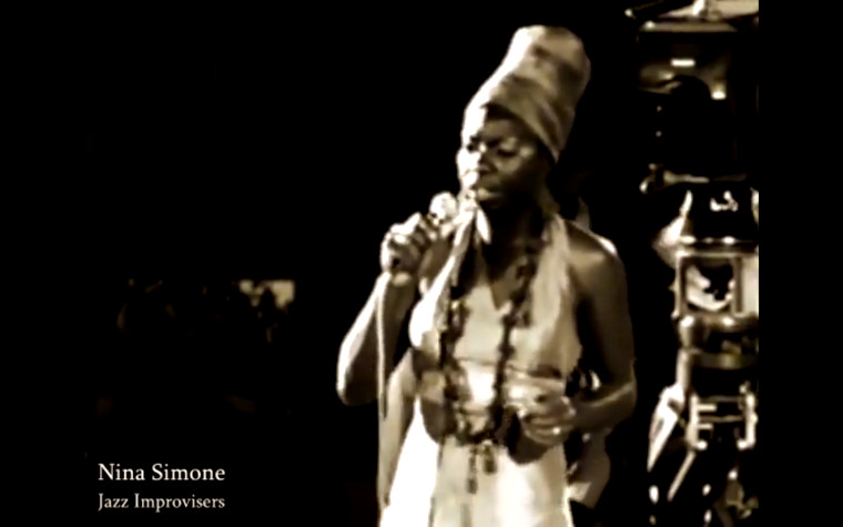 "Nina Simone chante Aretha Franklin : ""Save me"""