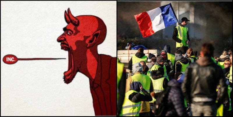 Gilets jaunes 1 an : architectes du mal radical et résistants en France