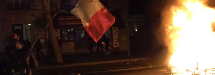 Police en roue libre, révolte sans limite, vers l'affrontement total