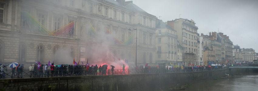 La grève générale, dernier stade de la lutte avant insurrection