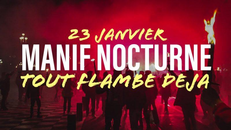 Retraite aux flambeaux : ceux que portaient les émeutiers le 14 juillet 1789