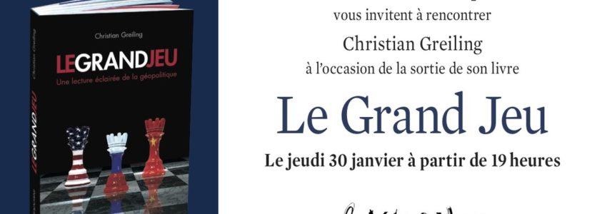 Le Grand jeu : libri et orbi