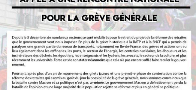 La base syndicale se rebiffe et appelle à relancer la grève générale