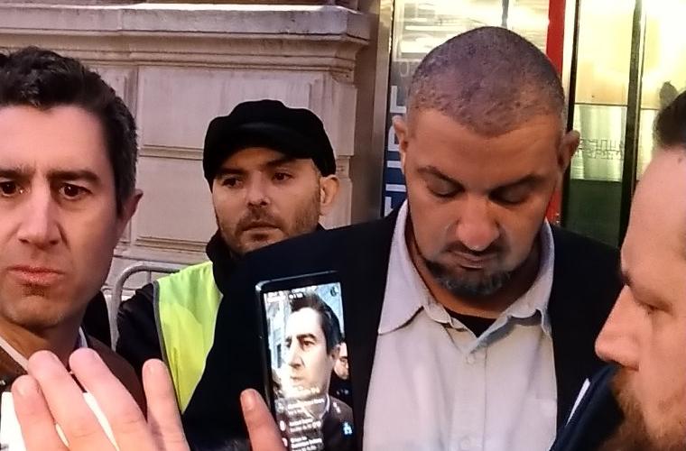 Pot solidaire : solidarité avec Noam Anouar, policier citoyen valeureux