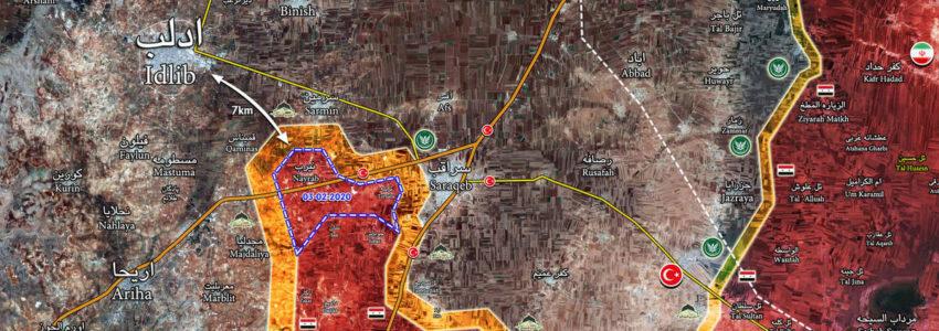 Le Grand jeu : Idlib à 7 km !