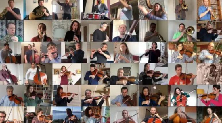 La vie continue : le Boléro de Ravel par les musiciens confinés de l'ONF