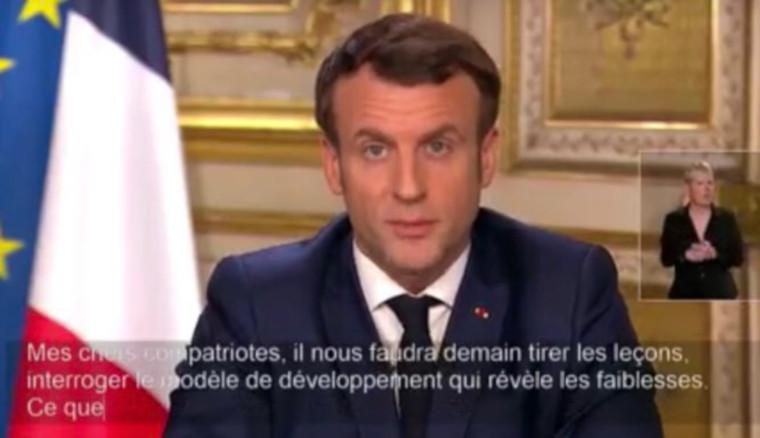 «Macron-diarrhée, Macron-diocèse, Macron-blabla» : un crétin totalement paumé vous parle…