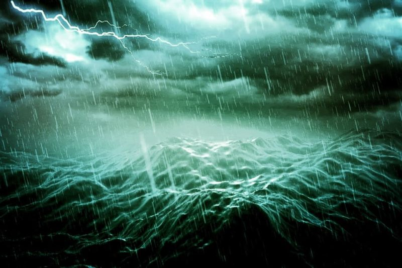 Bob Solo, plein la gueule : la tempête fait rage, les vents hurlent…