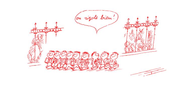 Le petit Nicolas est confiné, par Riccardo